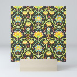Fantasy Damask Mini Art Print