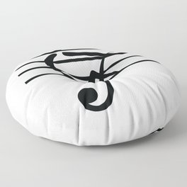 Rowing & Music Key1 Floor Pillow