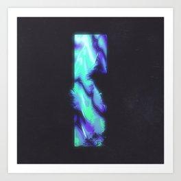 DAY 307: BRUISED OLECRANON Art Print