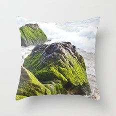 Sublime Slime Throw Pillow