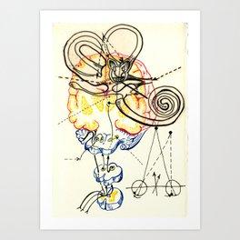 Sensory Systems 5 Art Print