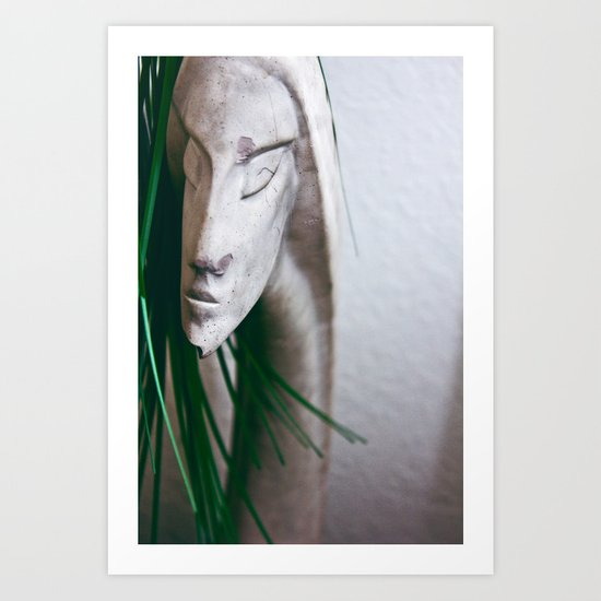 Statuesque Art Print