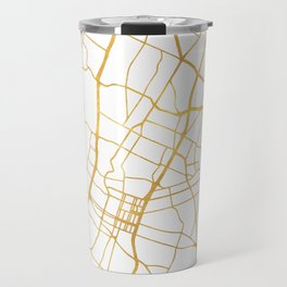 AUSTIN TEXAS CITY STREET MAP ART Travel Mug