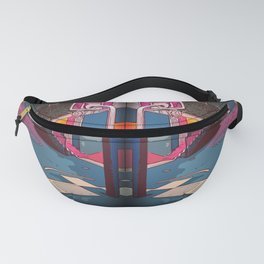 Play the game: Basketballcourt Fanny Pack