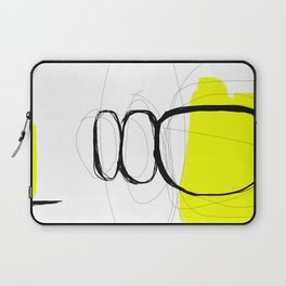 Blocks-Yellow Jam Laptop Sleeve