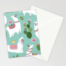 Llama Vibes Stationery Cards