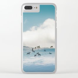 Safe Places Clear iPhone Case