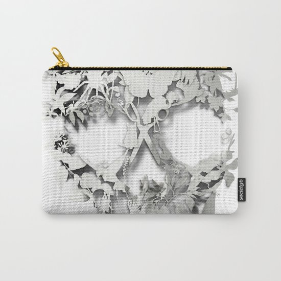 Simple Skull Carry-All Pouch