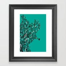 Shrubs Framed Art Print