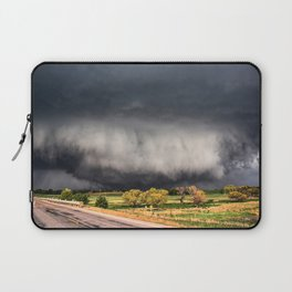 Tornado Day - Storm Touches Down in Northwest Oklahoma Laptop Sleeve