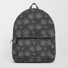 Cannabis Weed Leaf Pattern Backpack