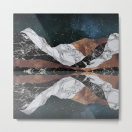 Landscape Mountains Metal Print