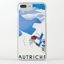 Autriche Clear iPhone Case