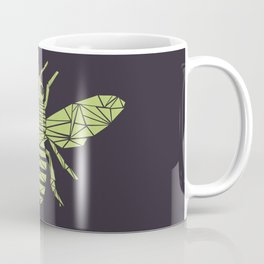 The Bee is not envious - Geometric insect design Coffee Mug