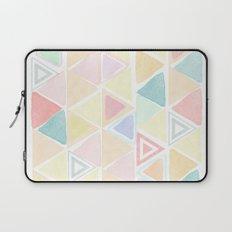 Triangle watercolor fantasy Laptop Sleeve