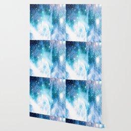 Blue Turquoise Nebula Wallpaper