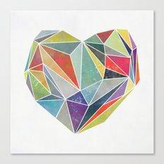 Heart Graphic 5 Canvas Print