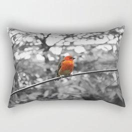 Red bird Rectangular Pillow
