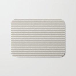 Stripes sand and beige #homedecor Bath Mat