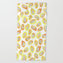 Papaya Beach Towel