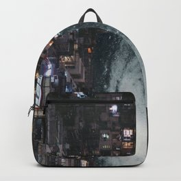past the city lights Backpack