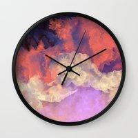 sun Wall Clocks featuring Into The Sun by Galaxy Eyes