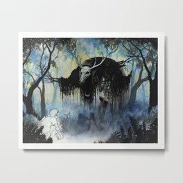 The Nightmare and The Muse Metal Print