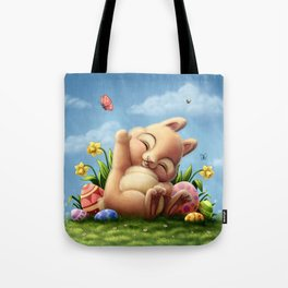 A little Easter bunny Tote Bag