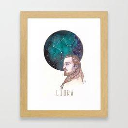 Constellations - Qui Gon Jinn - Libra Framed Art Print