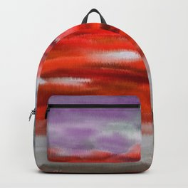 Serenity Abstract Landscape 3 Backpack