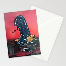 Murray Learns to Swim  Stationery Cards