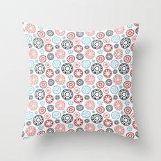 Daisy Doodles 1 Throw Pillow