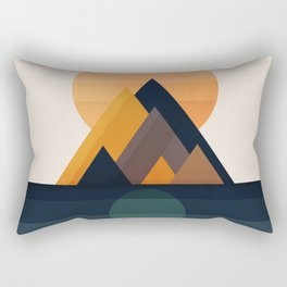 Twin Sun Rectangular Pillow