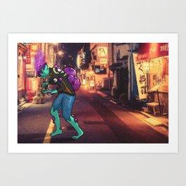 Bob-omb Zombie Art Print