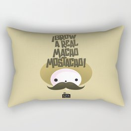 macho mostacho  Rectangular Pillow
