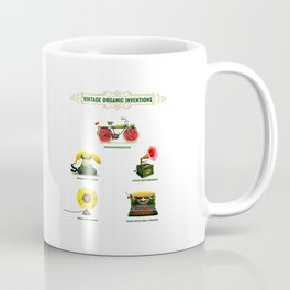 ORGANIC INVENTIONS SERIES: Vintage Organic Inventions Coffee Mug