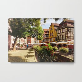 Colmar is a colorful poetry  Metal Print
