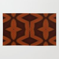 southwest Area & Throw Rugs featuring southwest pattern by Christy Leigh