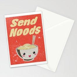 Send Noods Vintage Ramen Noodles Japanese Food Gift For Foodies Stationery Cards