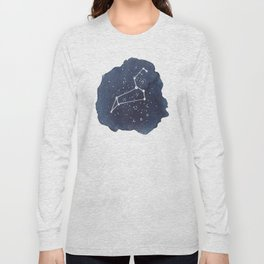 leo constellation zodiac Long Sleeve T-shirt