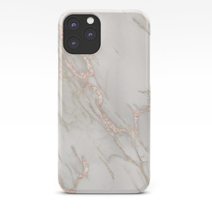 Marble Rose Gold Blush Pink Metallic By Nature Magick Iphone Case By Naturemagick Society6