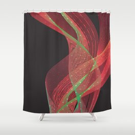 Smokey Charme Shower Curtain