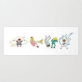 Name These Kids Art Print