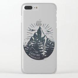 Craving wanderlust III Clear iPhone Case