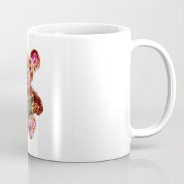 Painted Teddy Bear Coffee Mug