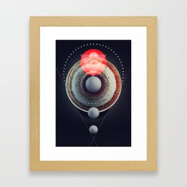 Jupiter BETA ( Pre-release version ) Framed Art Print