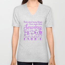 Sewing Mommy Unisex V-Neck