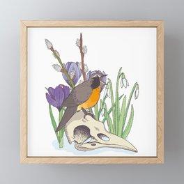 Hello, spring! Framed Mini Art Print