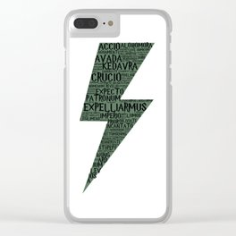 Slytherin Spells Clear iPhone Case
