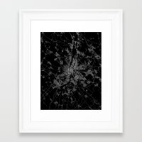 budapest Framed Art Prints featuring Budapest by Line Line Lines